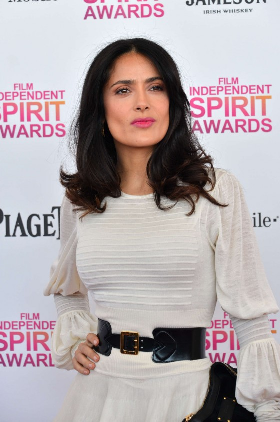 Salma Hayek – 2013 Film Independent Spirit Awards -14