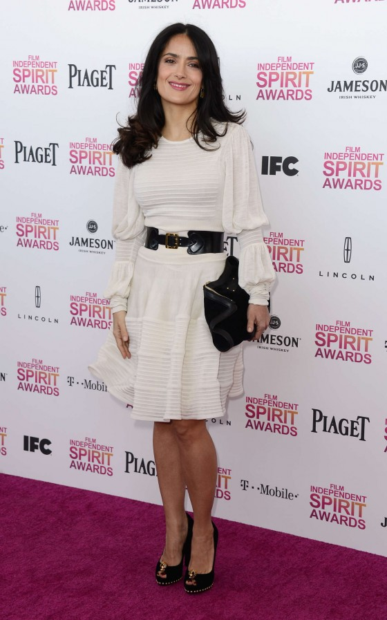 Salma Hayek – 2013 Film Independent Spirit Awards -19