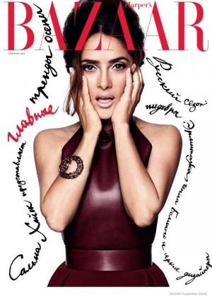 Salma Hayek - Harper's Bazaar Russia Magazine (September 2014)