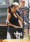Salma Hayek - On the set of Grown Ups 2 in Marblehead-05