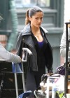 Salma Hayek - On the set of Grown Ups 2 in Marblehead-07