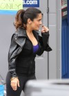 Salma Hayek - On the set of Grown Ups 2 in Marblehead-11