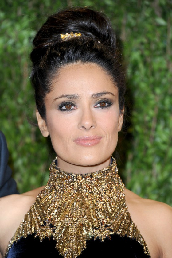 Salma Hayek – Oscar 2013 – Vanity Fair Party -08