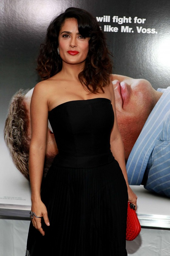 Salma Hayek hot at Premiere Here Comes The Boom