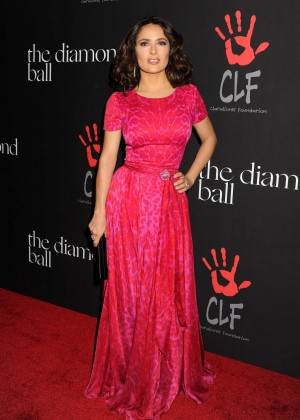 Salma Hayek - Rihanna's 1st Annual Diamond Ball Benefit in Beverly Hills