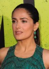 Salma Hayek in a long dress at Savages premiere in LA-11