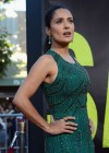 Salma Hayek in a long dress at Savages premiere in LA-17