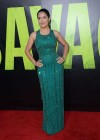 Salma Hayek in a long dress at Savages premiere in LA-18