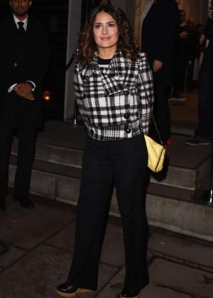 Salma Hayek - Stella McCartney Christmas Lights Switch On in London