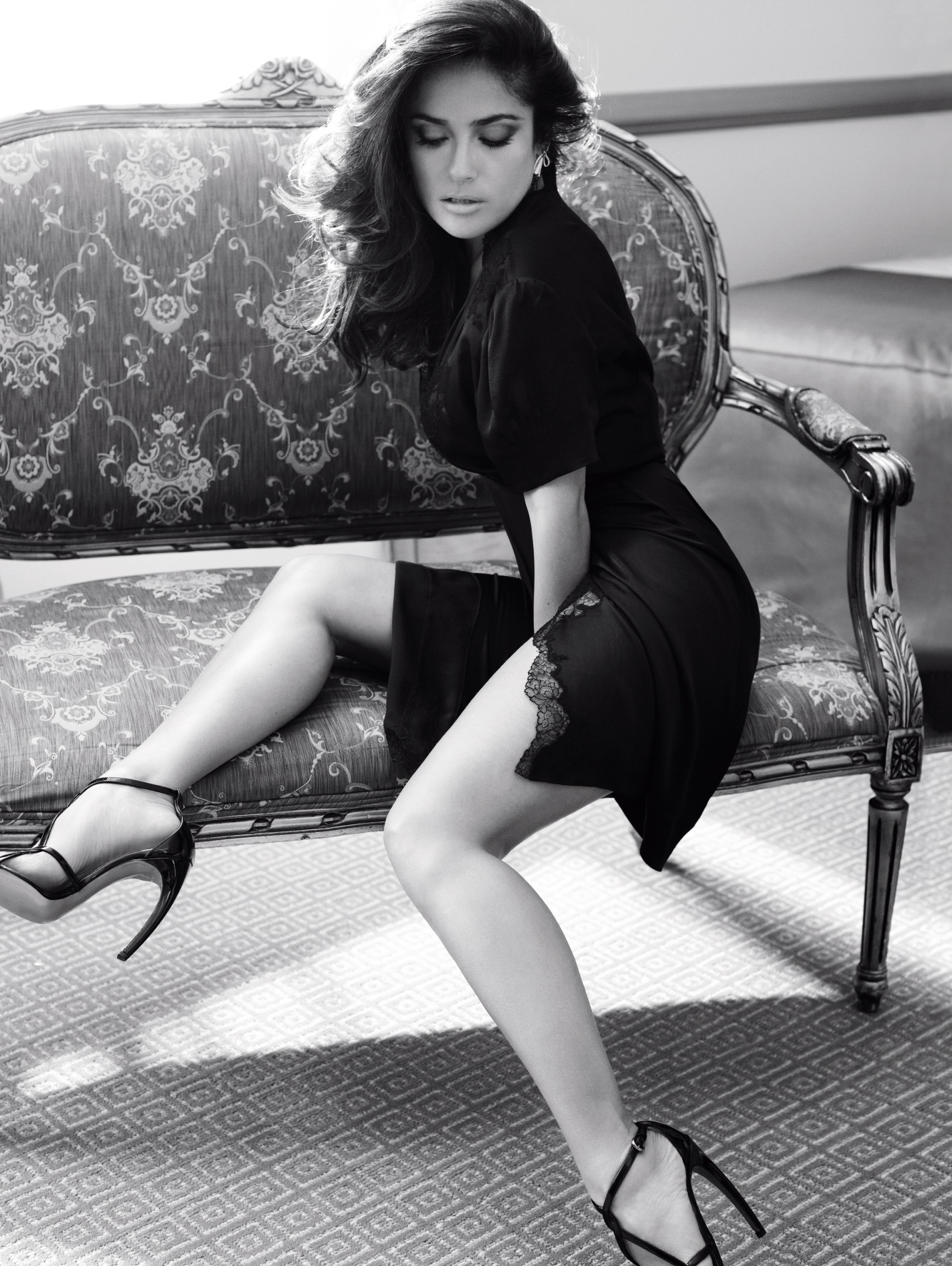 Salma Hayek hot Shots for Vogue 03 GotCeleb