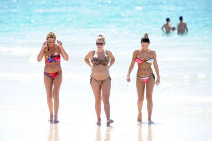 Sam Faiers Bikini Photos: 2014 in Dubai -11