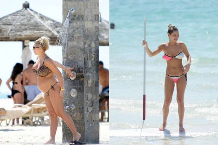 Sam Faiers Bikini Photos: 2014 in Dubai -12