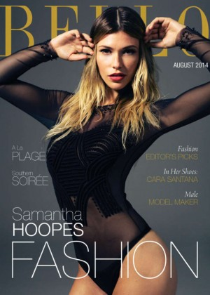 Samantha Hoopes - BELLO Magazine (August 2014)