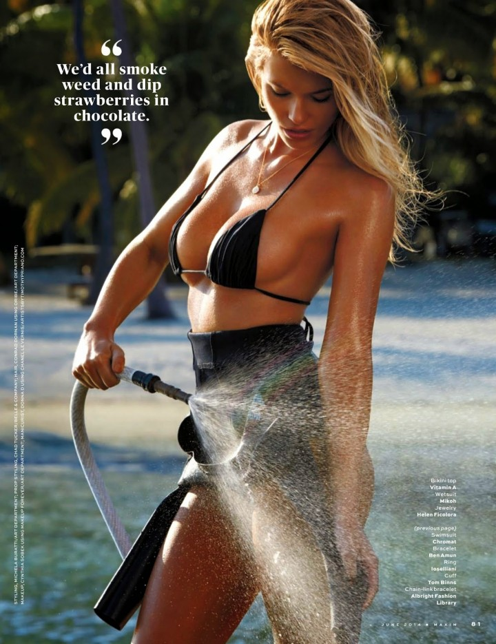 Samantha Hoopes: Maxim US 2014 -01