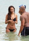 Samantha Mumba wear black bikini in Hawaii-14