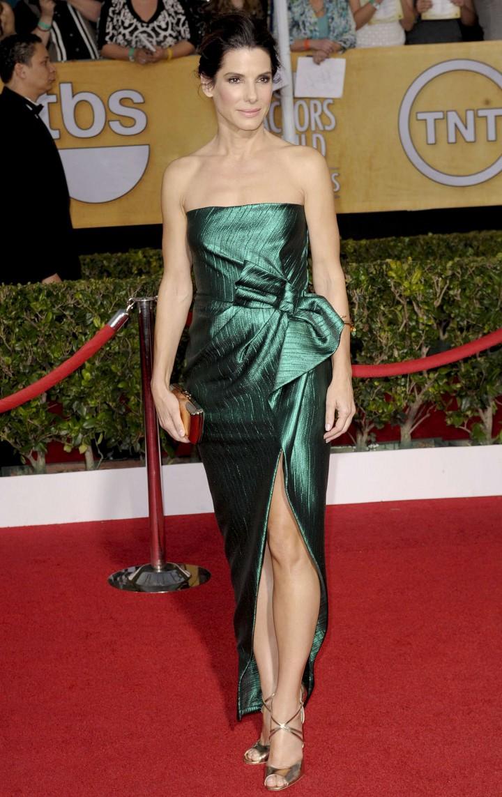Sandra Bullock: 2014 SAG Awards -01