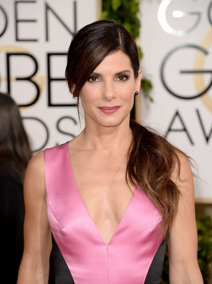 Sandra Bullock: Golden Globe 2014 Awards -01