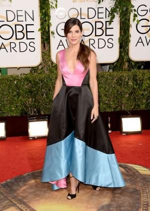 Sandra Bullock: Golden Globe 2014 Awards -03