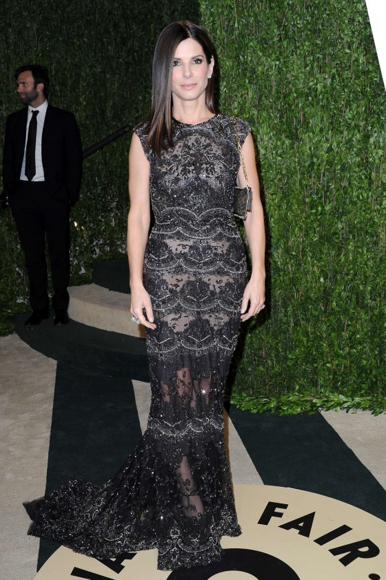 Sandra Bullock – Oscar 2013 – Vanity Fair Party -03