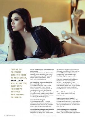 Sara Loren: Maxim India -04