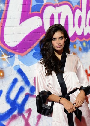Sara Sampaio - 2014 Victoria's Secret Show Backstage in London
