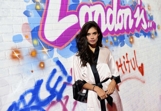 Sara Sampaio – 2014 Victoria's Secret Show Backstage in London