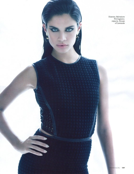 Sara Sampaio – Elle Magazine – May 2013 -05