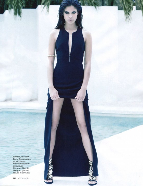 Sara Sampaio – Elle Magazine – May 2013 -07
