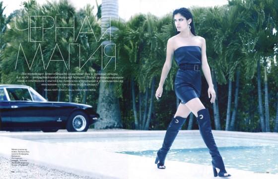 Sara Sampaio – Elle Magazine – May 2013 -08