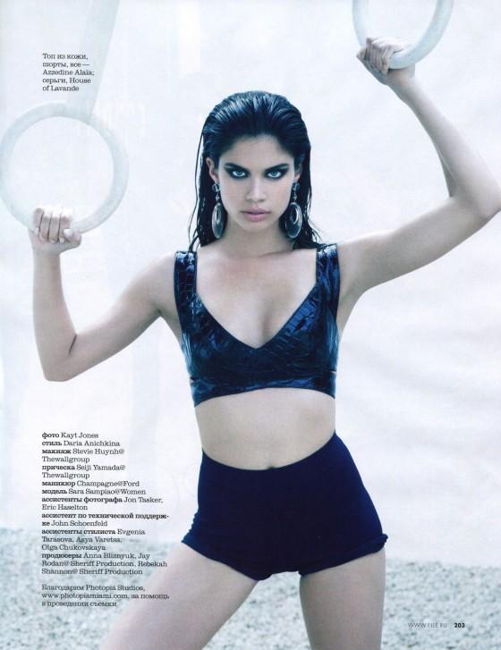 Sara Sampaio – Elle Magazine – May 2013 -11