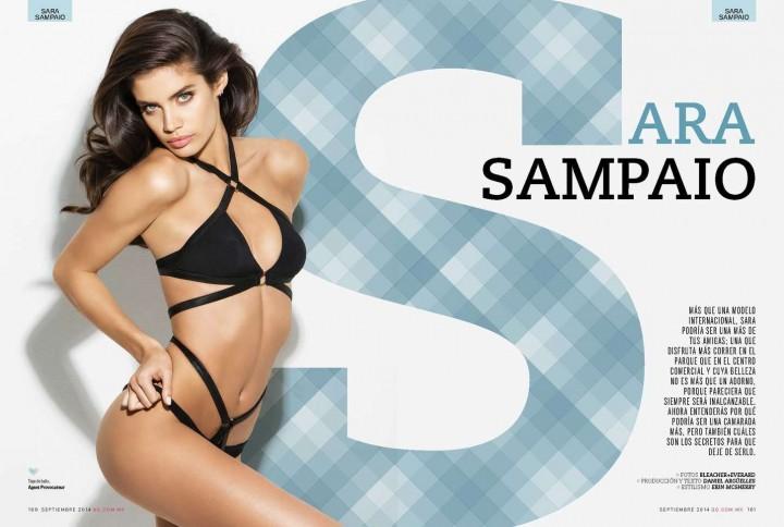 Sara Sampaio - GQ Magazine Mexico (September 2014)
