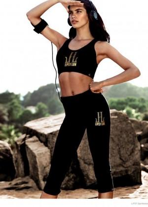 Sara Sampaio: Lipsy Sportswear 2014 Collection -05