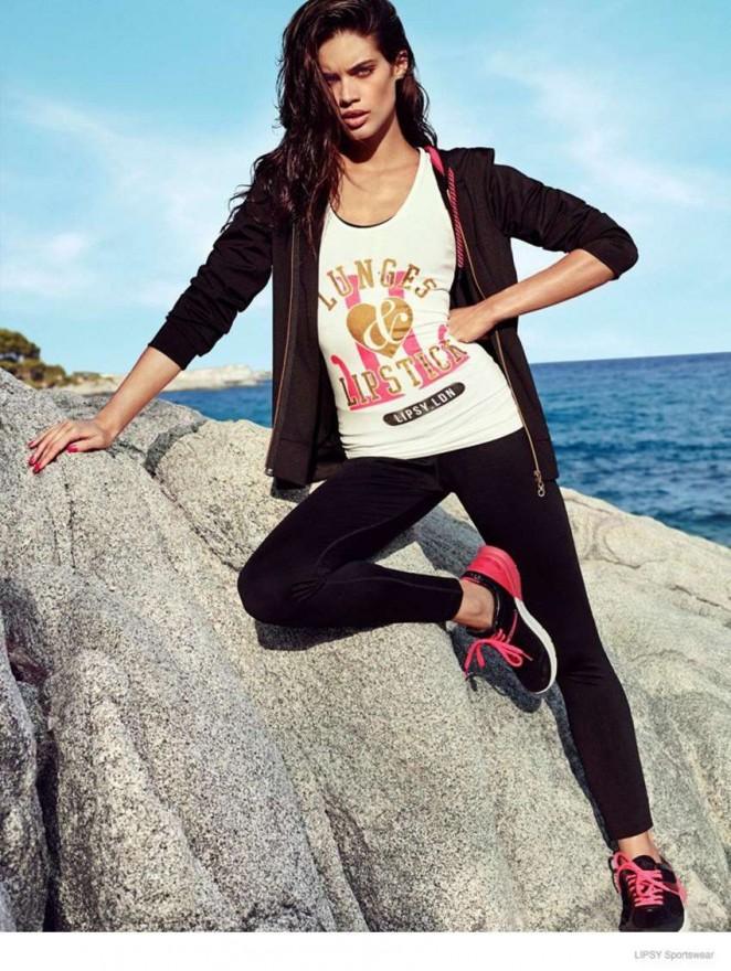 Sara Sampaio: Lipsy Sportswear 2014 Collection -06