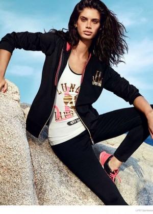 Sara Sampaio: Lipsy Sportswear 2014 Collection -08