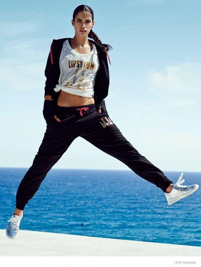 Sara Sampaio: Lipsy Sportswear 2014 Collection -11