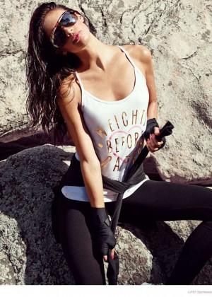 Sara Sampaio - Lipsy Sportswear Collection 2014