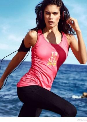 Sara Sampaio: Lipsy Sportswear 2014 Collection -13