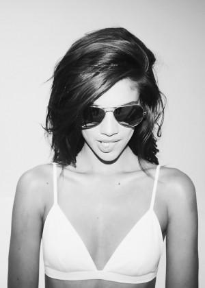 Sara Sampaio: Revolve Clothing 2014 -08