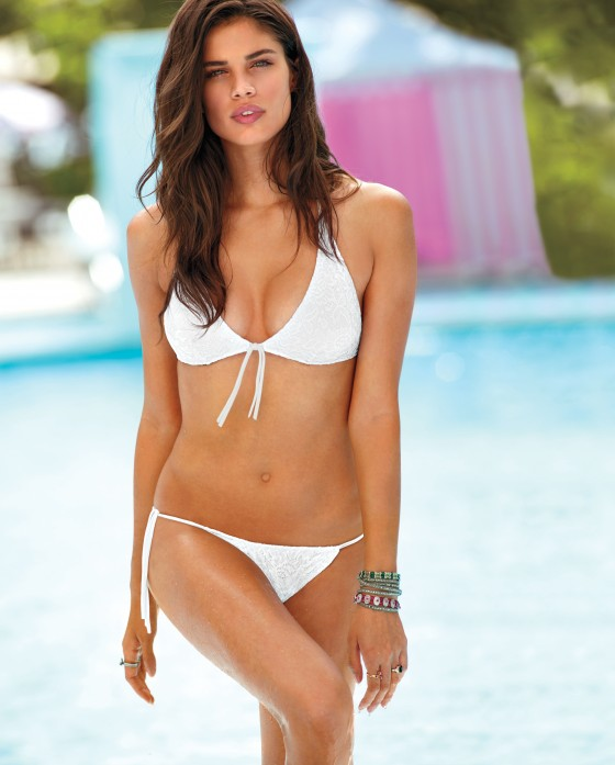 Sara Sampaio - Victoria's Secret Swim 2013 Photoshoot