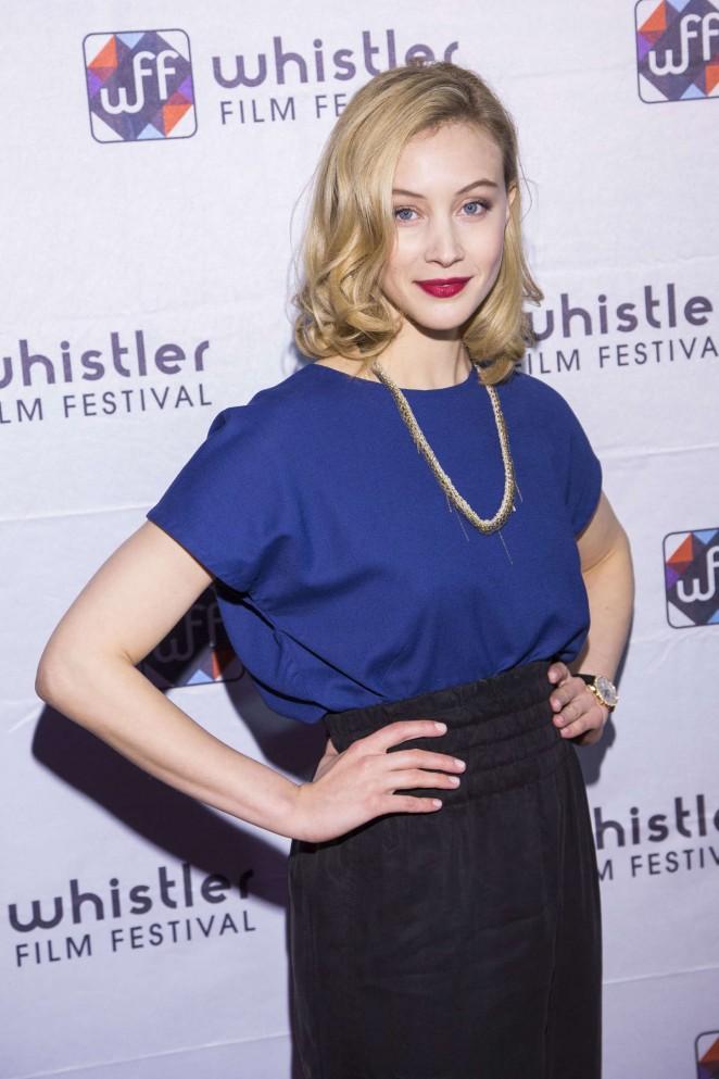 Sarah Gadon - 2014 Whistler Film Festival in Whistler