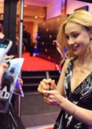"Sarah Gadon - ""Dracula Untold"" Premiere at Savoy Cinema in Dublin"