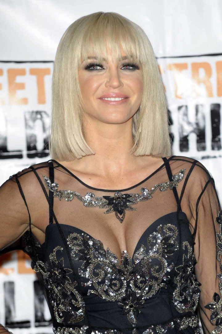 Sarah Harding - 2014 Street Child Party in London -03
