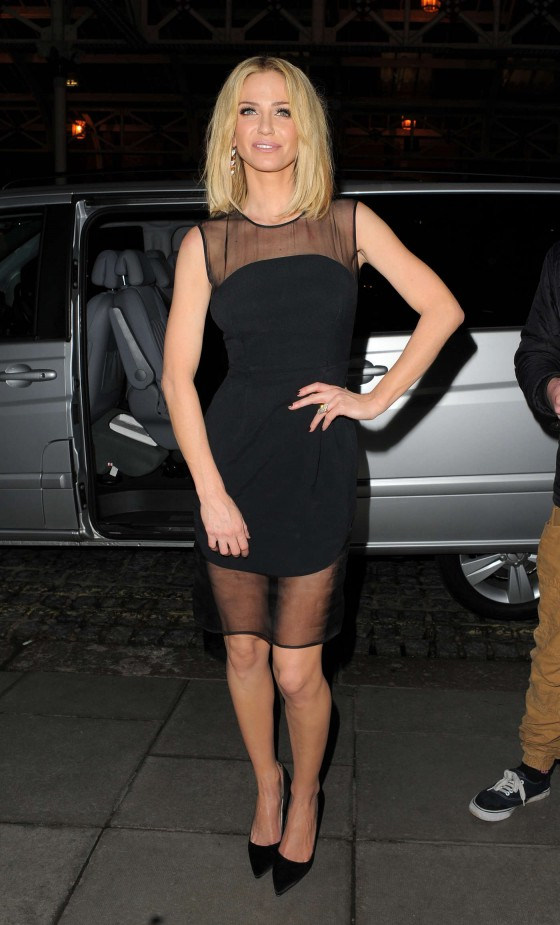 Sarah Harding - My Beautiful Ball Fundraiser at the Landmark Hotel in London -01
