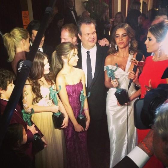 Sarah Hyland at Screen Actors Guild Awards 2013 -02