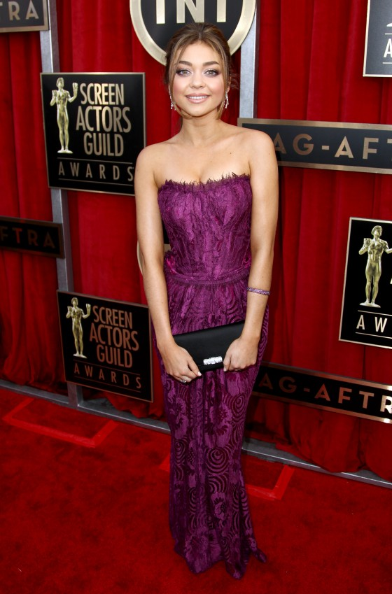 Sarah Hyland at Screen Actors Guild Awards 2013 -03