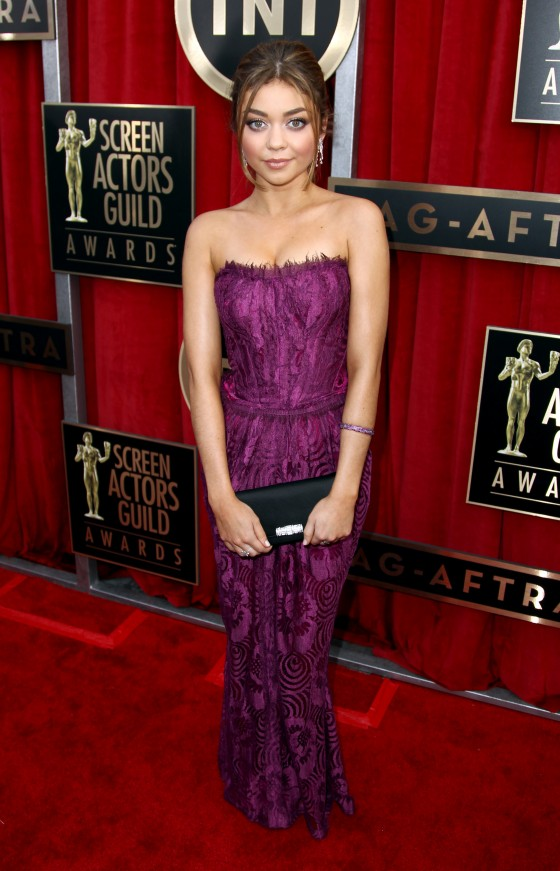 Sarah Hyland at 19th Annual Screen Actors Guild Awards