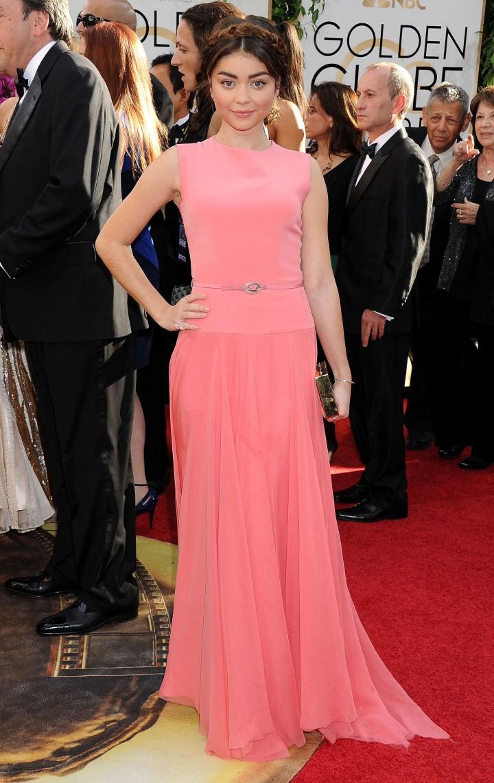 Sarah Hyland: Golden Globe 2014 Awards-02