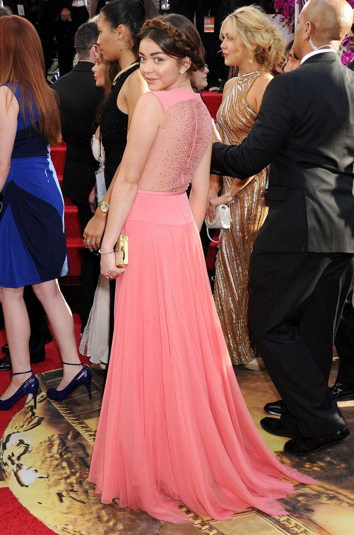 Sarah Hyland: Golden Globe 2014 Awards-09