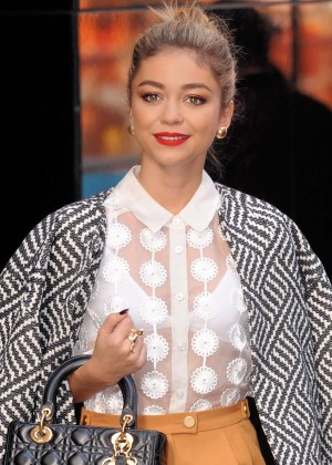 Sarah Hyland - 'Good Morning America' in NYC