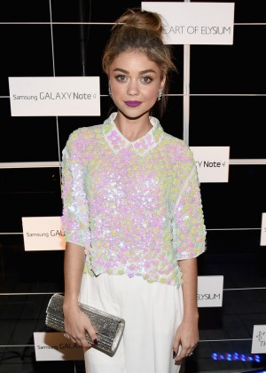 Sarah Hyland - 'The Note Pad' Powered by the Samsung Galaxy Note 4 in Los Angeles